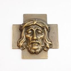 """Kreuz Relief """"Ecce homo"""" (klein)"""