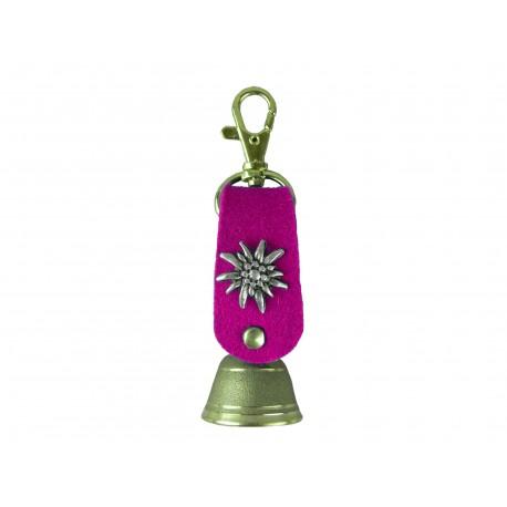 Schlüsselanhänger Glocke mit Filzband