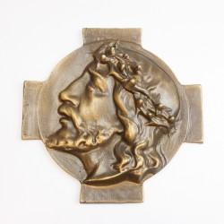 """Kreuz Relief """"Ecce homo"""" (groß)"""