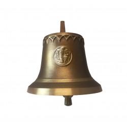 Tiroler Glocke edelbraun - Sternzeichen Schütze