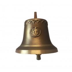 Tiroler Glocke edelbraun - Sternzeichen Wassermann