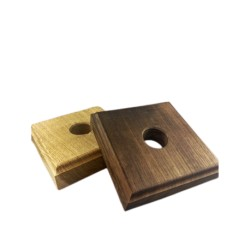 Standplatte klein (Holz) für Tiroler Glocken