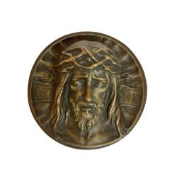 Christusrelief Ø 24 cm
