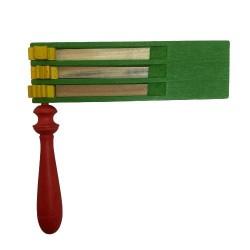 Osterratsche grün- dreifach