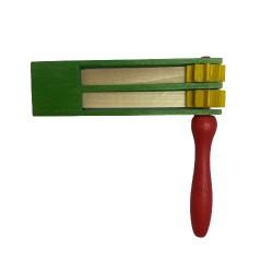 Osterratsche grün- zweifach